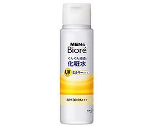 メンズビオレ浸透化粧水UVミルキータイプ