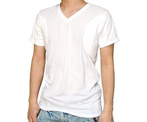 クレール脇汗パット付きシャツ