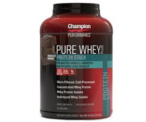 ピュアホエイプロテイン(Pure Whey Plus Supplements)