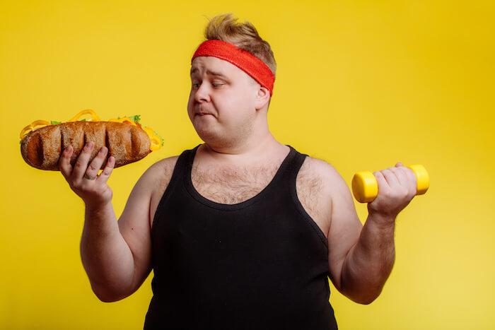 糖質を分解して、脂肪をつきにくくする