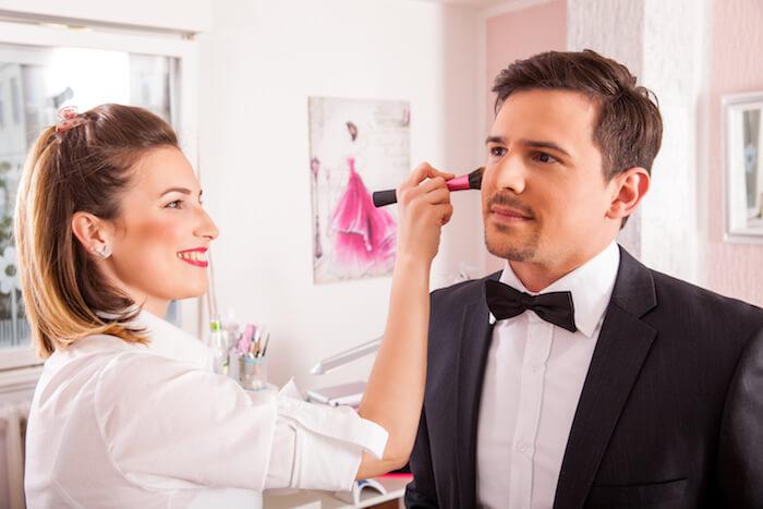結婚式などで着飾る時