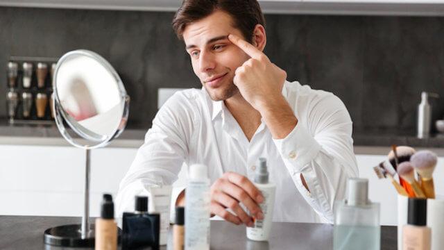 男性でも化粧は当たり前に?本気でモテたい人のためのメンズメイク術を解説します