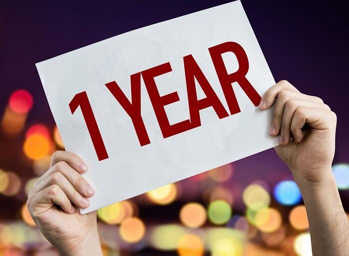 結婚までの交際期間は1年が目安