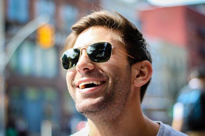 ルックスの特徴11.笑顔が素敵
