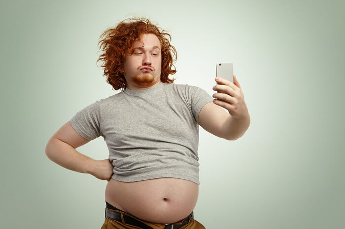原因1.脂肪が多く、だらんとたるんでいる