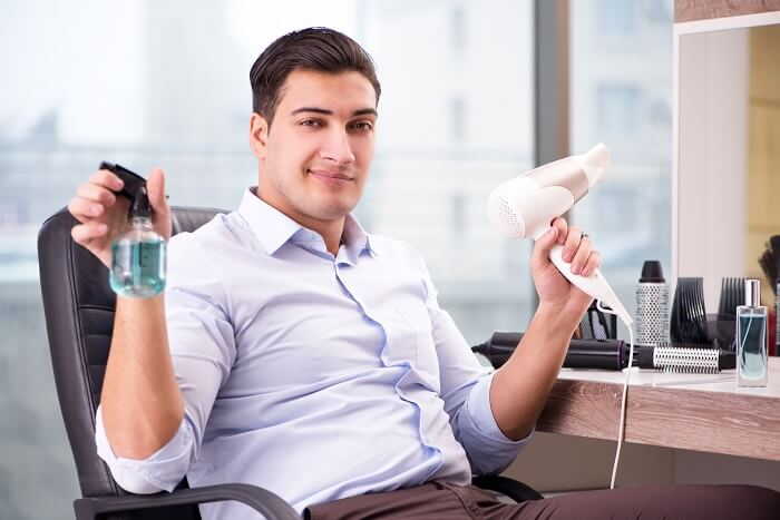 髪型セットの方法で重要なことはブローとスタイリング剤