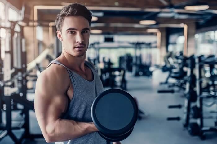 決められた回数のなかで自分の筋肉を使い切る