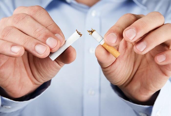 喫煙を避ける