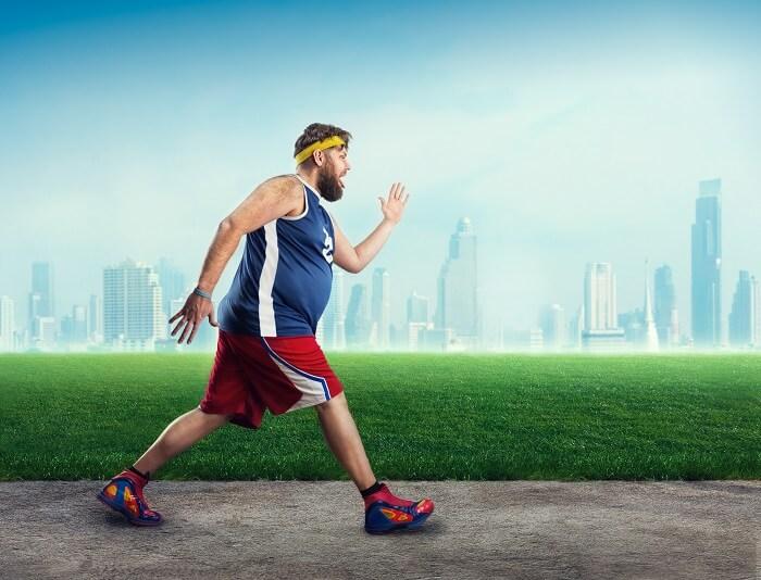 1.有酸素運動をして痩せる