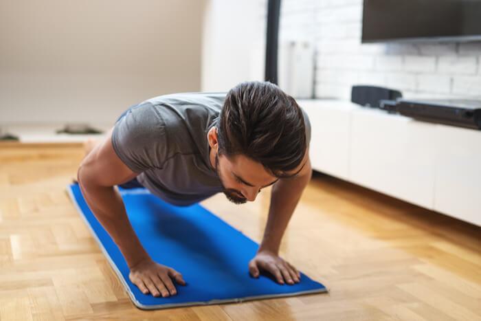 自宅でのトレーニングを効果的にする、筋トレグッズ