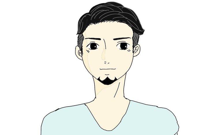 あご髭デザイン