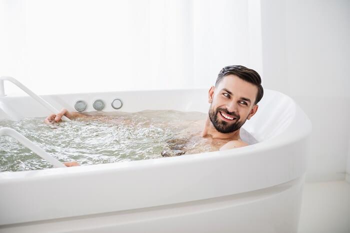 3.入浴時は湯船で温まっておく