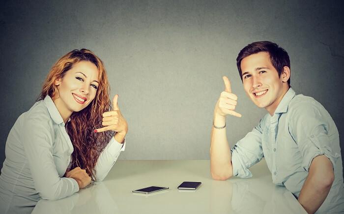【前提】連絡頻度はお互いで事前に決めよう