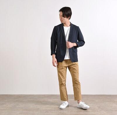 ④テーラードジャケット