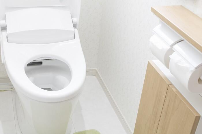 トイレを借りるときは親に断る