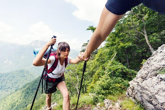 山ガールにモテるポイントは「頼れる男」