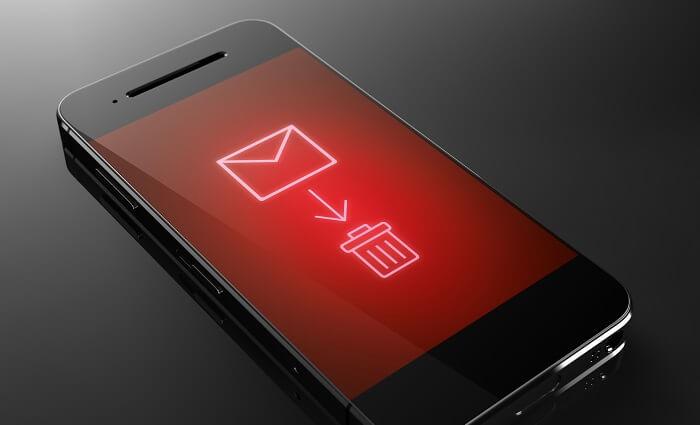 不倫や浮気の情報を消去するアプリ