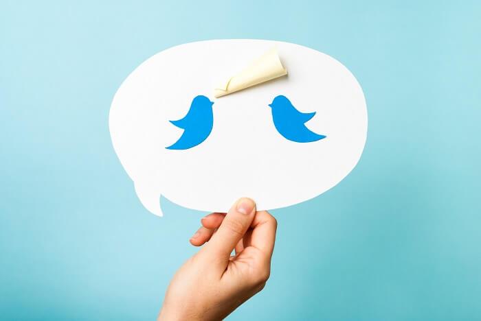 Twitter:匿名性が高くバレにくいSNS