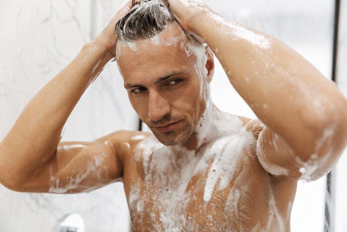 正しい頭の洗い方