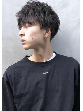 ⑧スパイラルミックス×黒髪