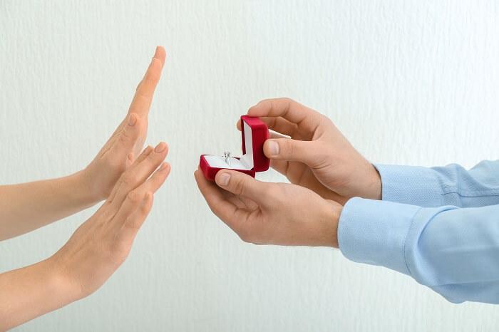4.プロポーズを断られてしまったから