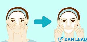 洗顔ステップ4.洗う順序はベタつくTゾーン ⇒ カサつくUゾーン