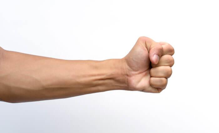前腕を太くするなら70%で12回
