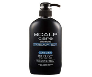 5位:熊野油脂スカルプケア薬用シャンプー