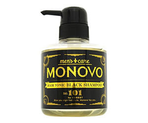 3位:MONOVOヘアトニックブラックシャンプー
