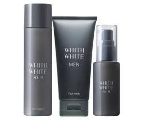 1位:WHITHWHITEMEN洗顔+化粧水+美容液