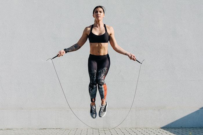 縄跳びトレーニング
