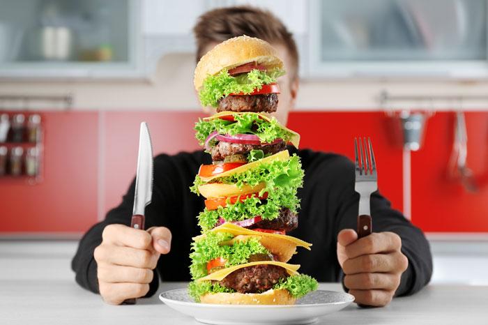 食べても太らないタイプ