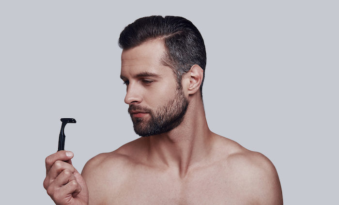 間違った髭剃り